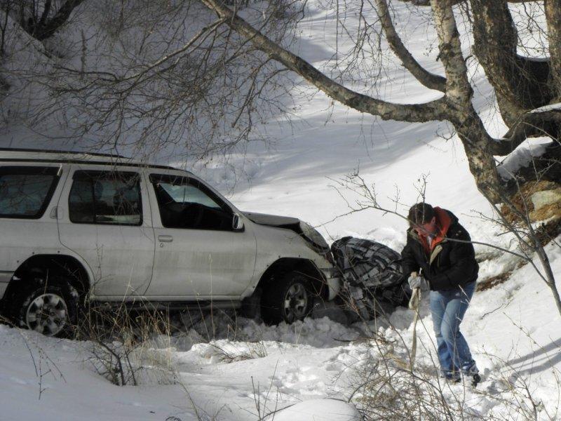 Эвакуатор алматы зимой в горах 5