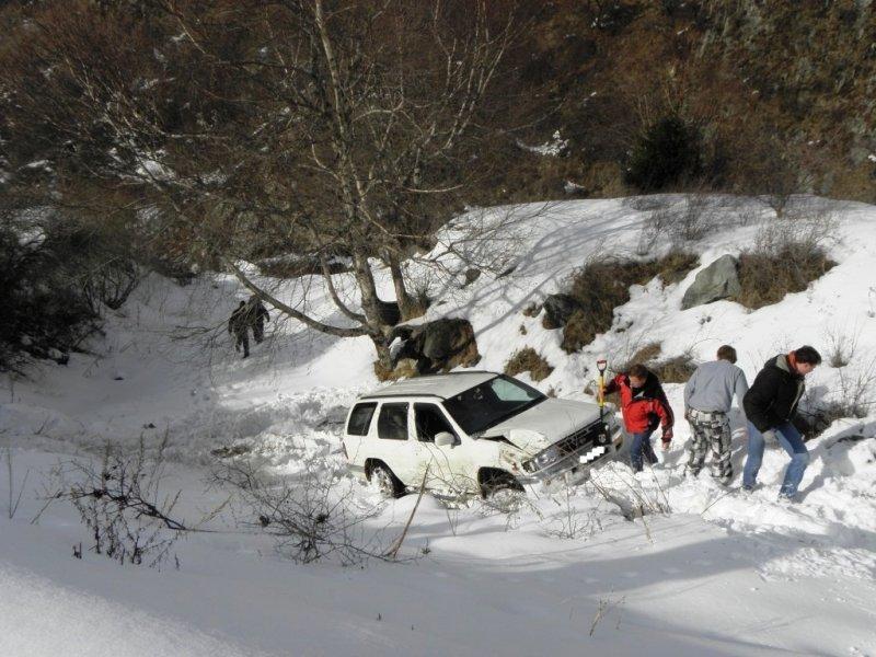 Эвакуатор алматы зимой в горах 7