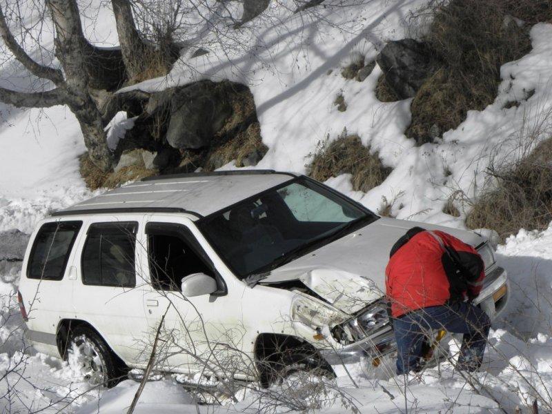 Эвакуатор алматы зимой в горах 8