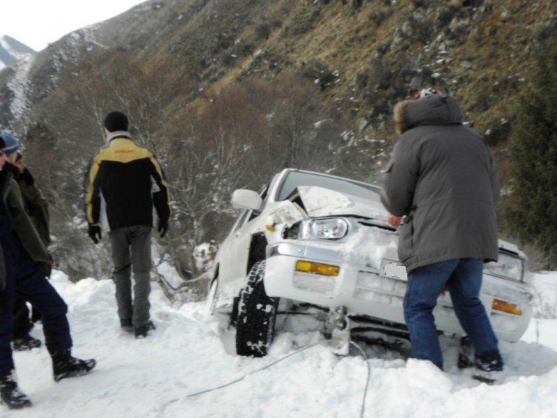 Эвакуатор алматы зимой в горах 16
