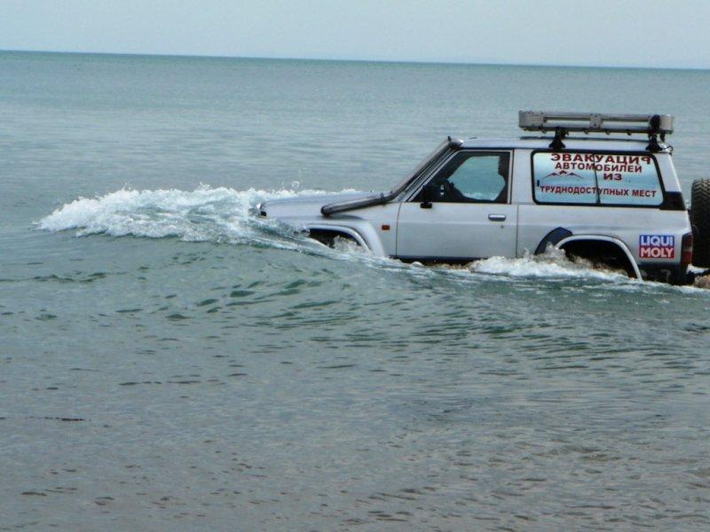 Эвакуатор в брод