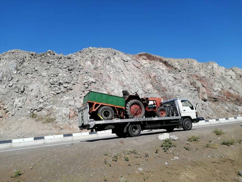 Эвакуатор Алматы  для тракторов